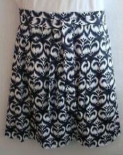 NEW WITH TAGS Ellen Tracy Women's Skirt Size 16, Blue & White, MSRP $298