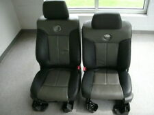 Ford F-150 Harley Davidson leather front & rear seats
