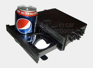 In car stereo radio fascia facia tray pocket with drinks holder CT24UV20 drawer