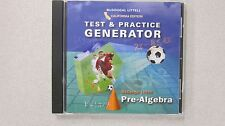 McDougal Littell Pre-Algebra California Test & Practice Gernerator CD 061865089X