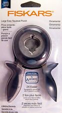 Fiskars ORNAMENTAL Christmas WINTER 2012 Easy Squeeze Paper Punch LARGE - NIP