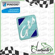 SCUDETTO STEMMA LOGO CRESTA PER VESPA GTS 125 250 300 TOURING ORIGINALE PIAGGIO