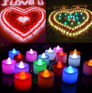 Glow Candle Simulation Flame LED Candle Family Wedding Birthday Party Decoration