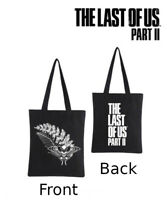 The Last of Us Part 2 II PS4 Black Tote Bag Only No Game