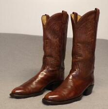 """Tony Lama Western Cowboy Leather Riding Casual boots men's 10.5B """"Made in USA"""""""