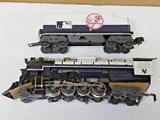 NEW LIONEL O GAUGE NEW YORK YANKEES BERKSHIRE ENGINE & TENDER 7-12000