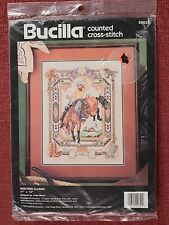 Bucilla, Counted Cross Stitch, Western Classes, Sealed 40629, F1