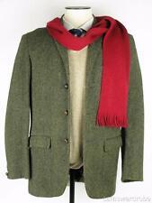 Vtg HARRIS TWEED Alexandre 100% Scottish Wool Blazer Sports Coat Suit Jacket 38