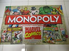 Monopoly Marvel Comics Board Game