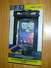 OverBoard Waterproof Smartphone Case ~ Black ~ Brand New ~ BNIB