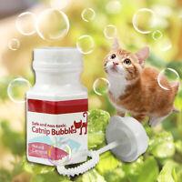 Cat Catnip Bubbles Spray Toys Interactive Kitty Bubble Blower Funny Toys GIFT