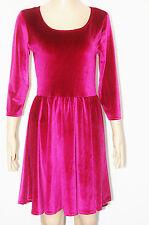 Unbranded Party 3/4 Sleeve Velvet Dresses for Women