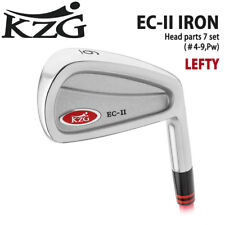2017c KZG GOLF JAPAN EC-II IRON HEAD PARTS SET #4-9,Pw(7) for LEFTY 071803