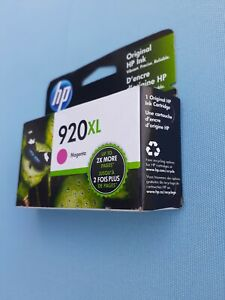 HP 920XL High Yield Original Ink Cartridge, Magenta (CD973AN) EXP JUL 2022