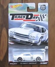 Hot Wheels Car Culture Track Day '70 Chevy Chevelle Real Riders
