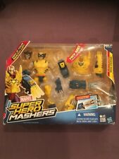 NEW Marvel Super Hero Mashers Electronic WOLVERINE Action Figure Damage Box
