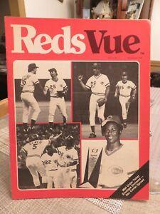 "CINCINNATI REDS ""RedsVue"" Publication  November 1980"