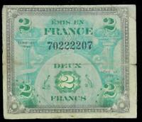 MILITARY CURRENCY WWII >> 2 DEUX FRANCS>> 30983044