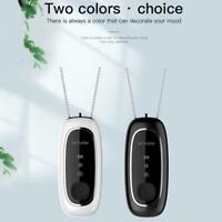 USB Necklace Portable Air Purifier Personal Anion Wearable Ionizer Negative C8D6