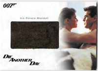 James Bond In Motion Costume Wardrobe Prop Relic Card RC23 Ice Palace Blanket