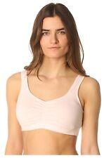 Majamas Soft Organic Cotton Sleep Bra Maternity Nursing No Wire Small 32B 32C