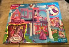 Barbie Mariposa & the Fairy Princess Castle Playset with Mini-Dolls NEW sealed