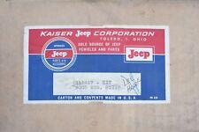 NEW NOS Jeep FC-150 FC-170 Door Weatherstrip Seal FC150 FC170