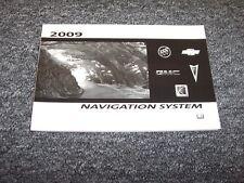 2009 Saturn Outlook & Vue Navigation System Owner Operator User Guide Manual