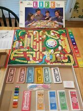 THE GAME OF LIFE BOARD GAME MILTON BRADLEY 1985Vintage Great Condition