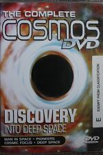 THE COMPLETE COSMOS - DISCOVERY INTO DEEP SPACE RARE DELETED PAL DVD DOCUMENTARY
