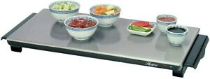 Hostess Large Cordless Hot Tray HT6030 plate and food warmer