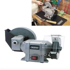 New Draper 230V Mains 250 Watt WET AND DRY BENCH GRINDER 2950rpm Workshop