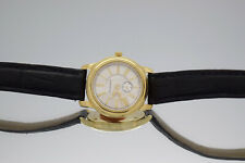 Tiffany & Co Round Roman Dial 18k Yellow Gold Watch 25mm