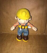 "Bob The Builder 8"" Beanie Soft Toy Plush - Good Condition"