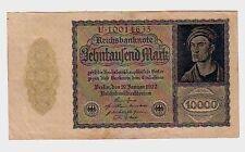 Germania Germany  10000 10.000 marchi   1922   SPL XF    pick 72   lotto 631
