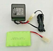 7.2V 600mAh Ni-MH AA Batería Recargable Tamiya Enchufe para RC coches + Cargador