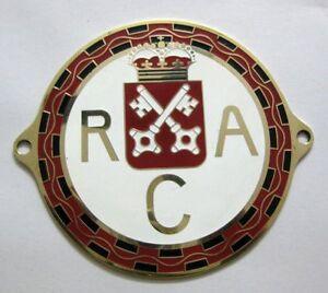 ADAC MUNICH BAVARIA RALLYE 1963 Car grille radiator enamel Badge ADAC mg