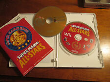 SUPER MARIO ALL STARS NINTENDO WII FIRST LABEL 2 DISC SOUNDTRACK CD COMPLETE