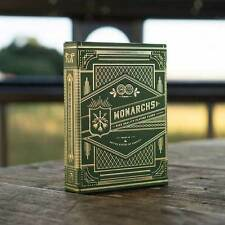 Verde Monarch Playing Cards Deck-theory11 Magicians e collezionismo