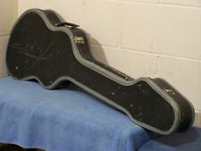 1960's CHIPBOARD SOFT SHELL SHORT SCALE BASS CASE EXCELSIOR USA ELECTRIC GUITAR