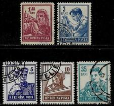ROMANIA 1955 Old Stamps - People Careers