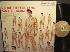 PRESLEY~50,000 ELVIS FANS CAN'T BE WRONG~NM/NM-50TH ANNIVERSARY GOLD LABEL~VOL 2