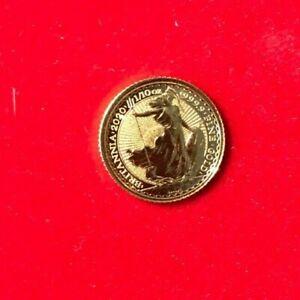 Großbritannien BRITANNIA 2020 10 Pounds - 1/10 oz Gold 9999 - ST - Top-Erhaltung