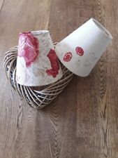 NEW CANDLE LAMPSHADE IN ALL KATE FORMAN DESIGNER LINEN FABRICS