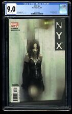 NYX #3 CGC VF/NM 9.0 White Pages 1st X-23!