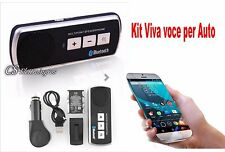 KIT VIVAVOCE BLUETOOTH per CELLULARE SAMSUNG per Auto + carica batteria