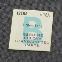 BULOVA Long Stem Caliber 12EBA Part 16A New Old Stock NOS Watch Part