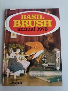 Basil brush annual 1973 hardback book children's bbc tv vintage nostalgia