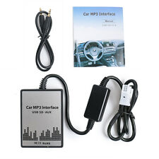 Digital USB SD MP3 Player Aux Interface Audio In Adapter For RD4 Peugeot Citroen