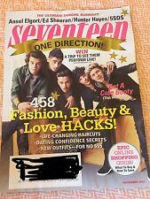 Seventeen Magazine- November 2014 ONE DIRECTION ED SHEERAN 5SOS-FANGIRL EDITION